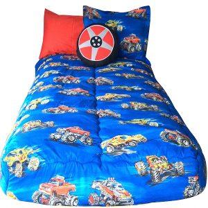 Monster Truck Bunk Bed Hugger Comforter