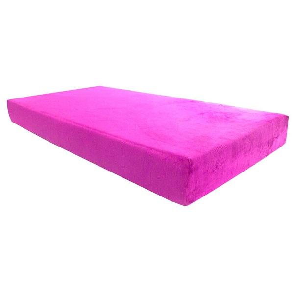 Kids Swirl Gel Memory Foam Mattress In Pink Amp Blue