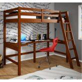 Teen Wooden Loft Beds With Desk