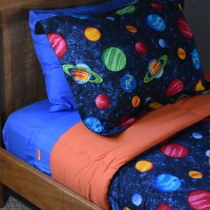 Bright Blue Zipper Sheets