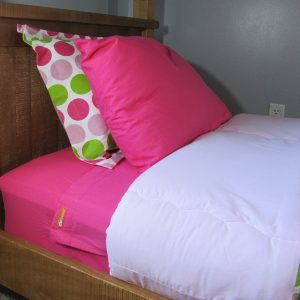 Fuchsia Zipper Sheets