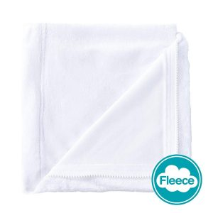 White Fleece Zip on Sheet