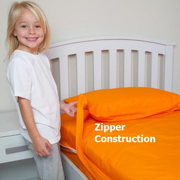 Kids Zip Sheeets Zipper Construction 600 Sheets