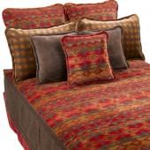 Earth Spirit Blanket Bedspread with Sham & Toss Pillows