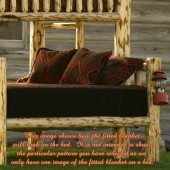 Fitted Bunk Bed Blanket