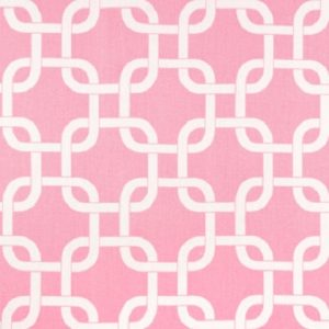 baby pink white twill gotcha fabric for bunk huggers
