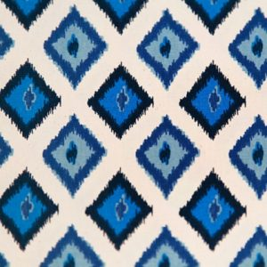 arctic blue natural carnival fabric 420