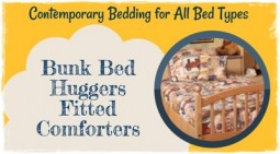 What are Bunk Bed Huggers Fitted Comforters?