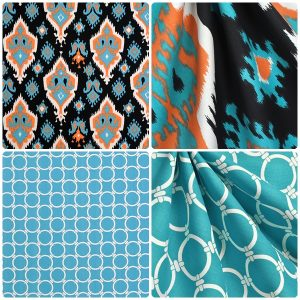 apache collection of fabrics for custom bedding