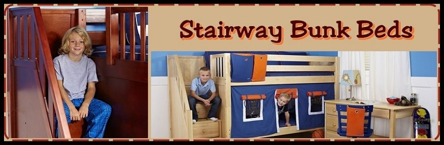 Bunk Beds with Stairs at Bunk Beds Bunker