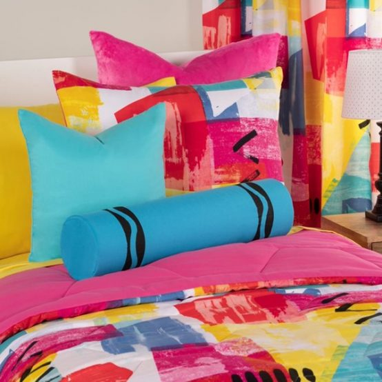 Abstraction Bed Cap Comforter Set