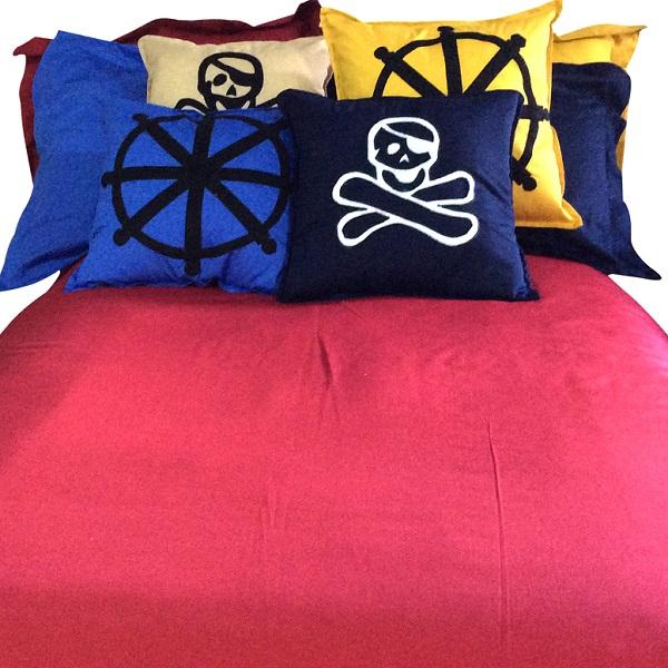 Ahoy Pirate Bunk Bed Hugger