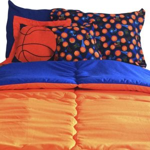 Basket Bunk Bed Hugger Basketball Bedding