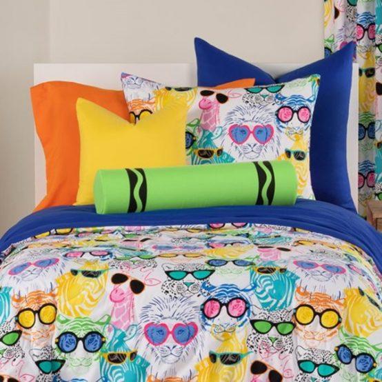 Cool Cats Bed Cap Comforter Set