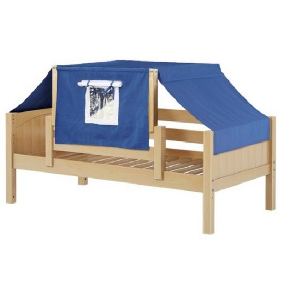 Natural Panel Daybed with Blue Top Tent