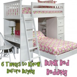 Six things to know before buying bunk bed bedding