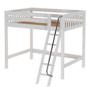 Full Size Wooden High Loft Bed