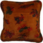 Falling Leaves Toss Pillow