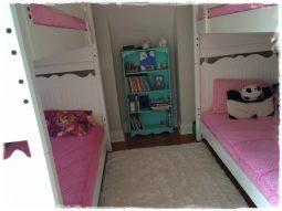 Bubble Gum Minky Bunk Bed Huggers
