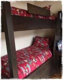 Rodeo Red Bunk Bed Hugger