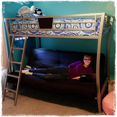 Spiro Gyro Bunk Bed Hugger Comforter