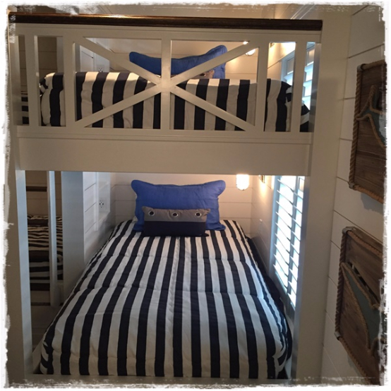 Americana Bunk Bed Huggers