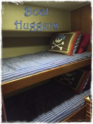 Huggers Custom Made to fit Boat Mattresses