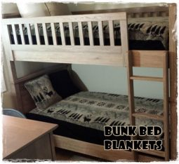 Bunk Bed Fitted Blanket Bedspreads