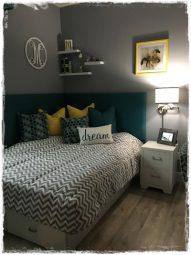 Grey White Zig Zag Bunk Bed Hugger Fitted Comforter
