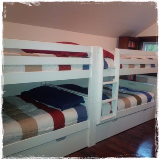 Hayden Earth Tones Bunk Bed Hugger