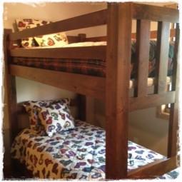 Men at Work Bunk Bed Hugger Sets