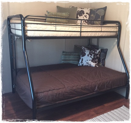 Solid Color Reversible Bunk Bed Hugger