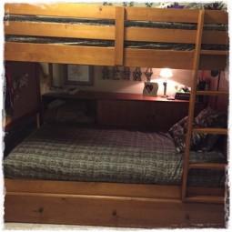 Unit Stripe Bed Cap Comforter Set