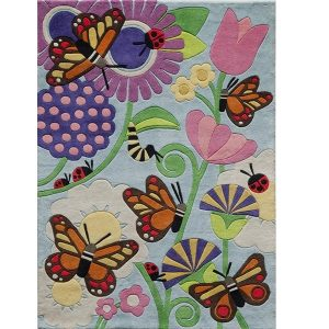 Kids Butterfly Rug