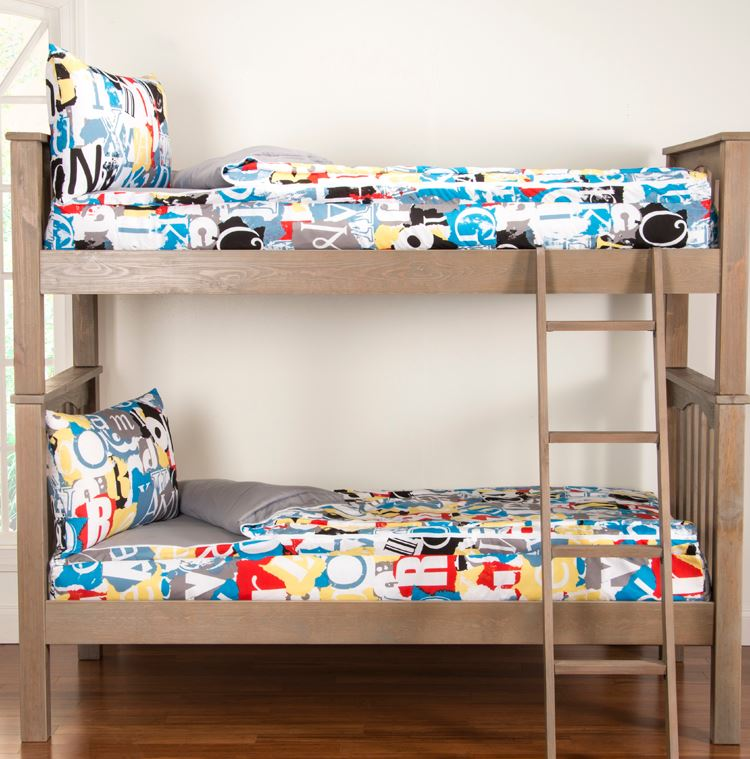 Twin Size Zip Bedding For Boy