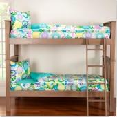 Pointillist Pansy Zipper Comforter