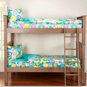 Pointillest Pansy Zipper Bedding Bunkie