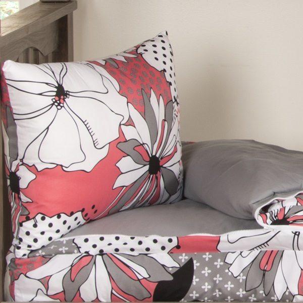Flower Patch Zipper Bedding for Bunk Beds