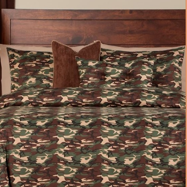 Camo Bed Sets Galaxy Camo Bed Cap Comforter Set With Sham Toss Pillows