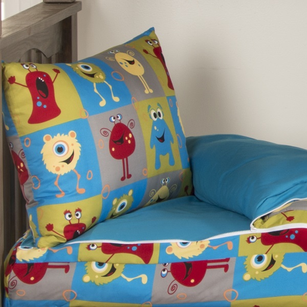 Zip It Bedding Elasticized Crayola Monster Friends Bunkie