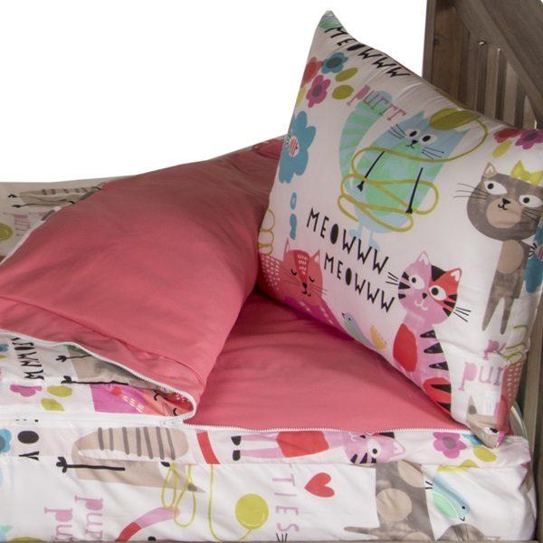 Cat Zipper Comforter