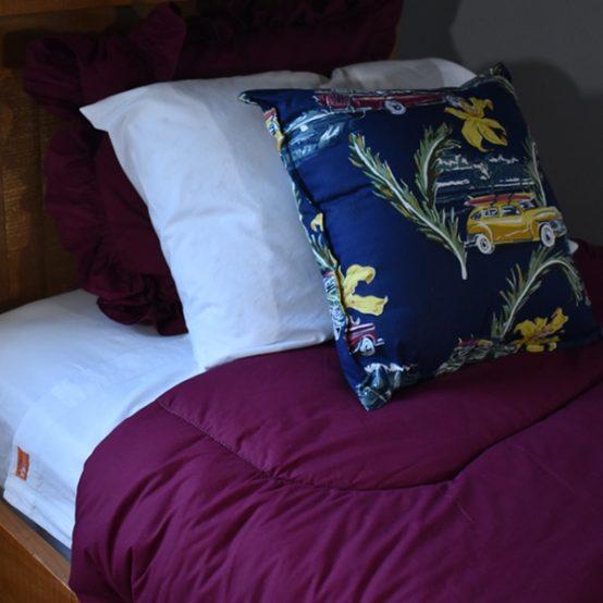 zipsheets with elasticized bed cap comforter