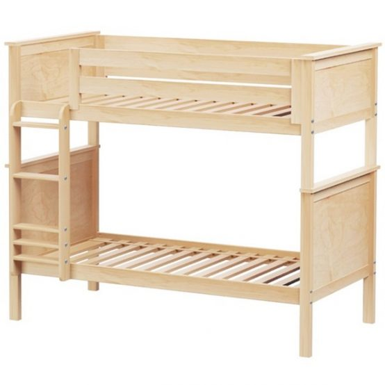 Twin Youth Bunk Bed in Natural Finish