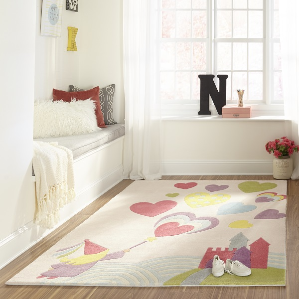Princess Rug – Accent or Area Rug for Princess Bedrooms