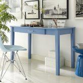Blue Writing Desk