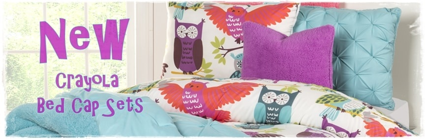 Owl Always Love You Bed Cap Comforter Set with Shams & Toss Pillows