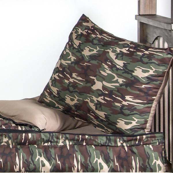 Galaxy Camo Zipper Comforter For Bunk Amp Loft Beds