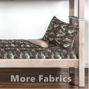 galaxy camo zipper bunkie