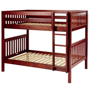 Full Full Wooden Bunk Beds