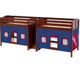 Quad Wooden Bunk Beds